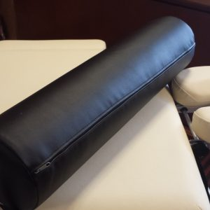Black Massage Bolster