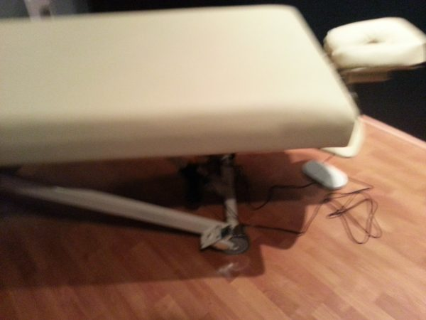 Foot Adjustable Electric Massage Table