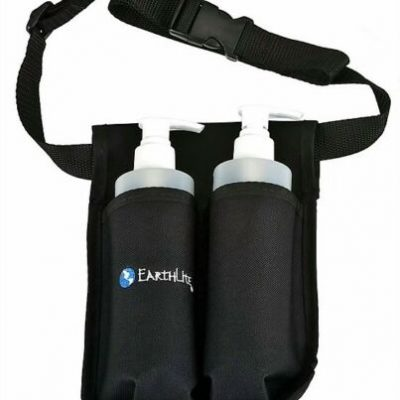 Double Bottle Massage Lotion Holster