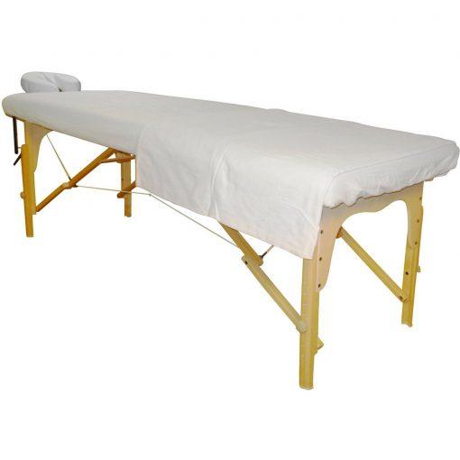 Massage Sheets - 3 Piece Set Poly Cotton