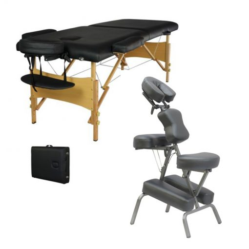 Massage Table and Chair Combo