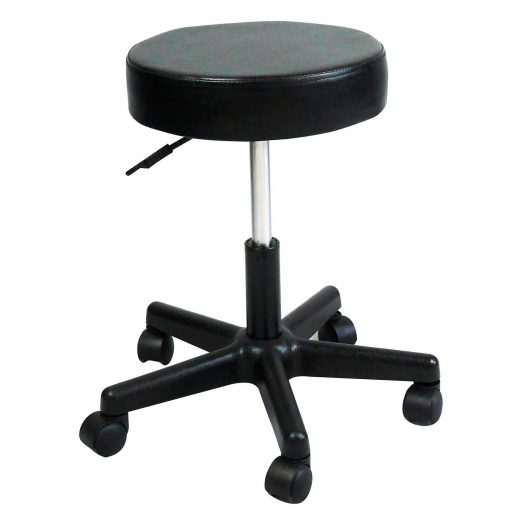Black Salon Stool