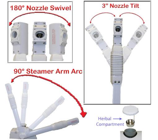 Flexable Facial Steamer