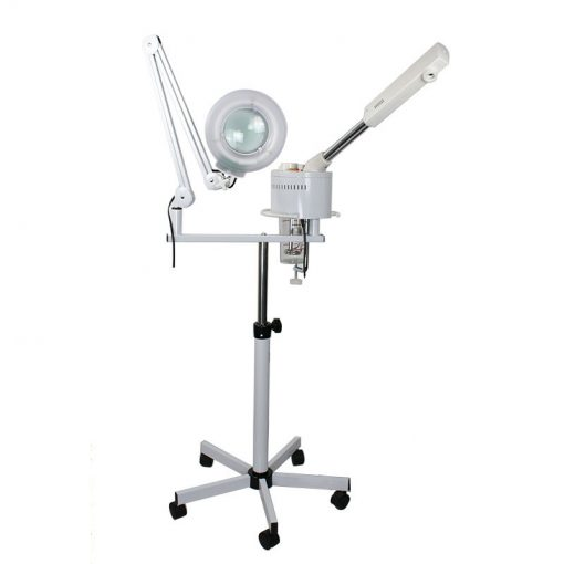 2 in 1 Facial Steamer 5x Magnifying Lamp
