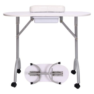 Manicure Foldable Nail Tech Table