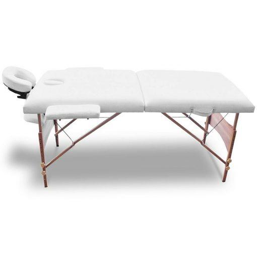 White Portable Massage Table