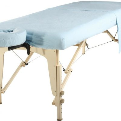 Sky Blue 3 Piece Massage Sheet Set