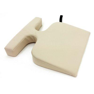 Massage Table Breast Bolster Pillow - Cream