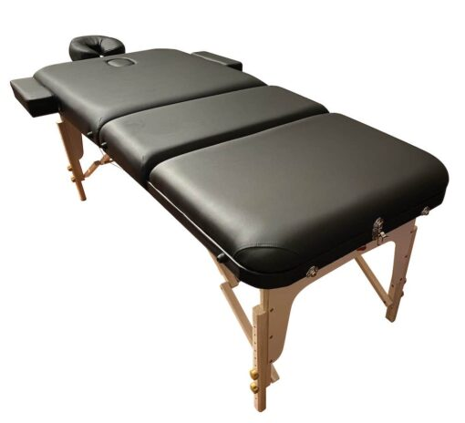 Back of Portable Massage Table